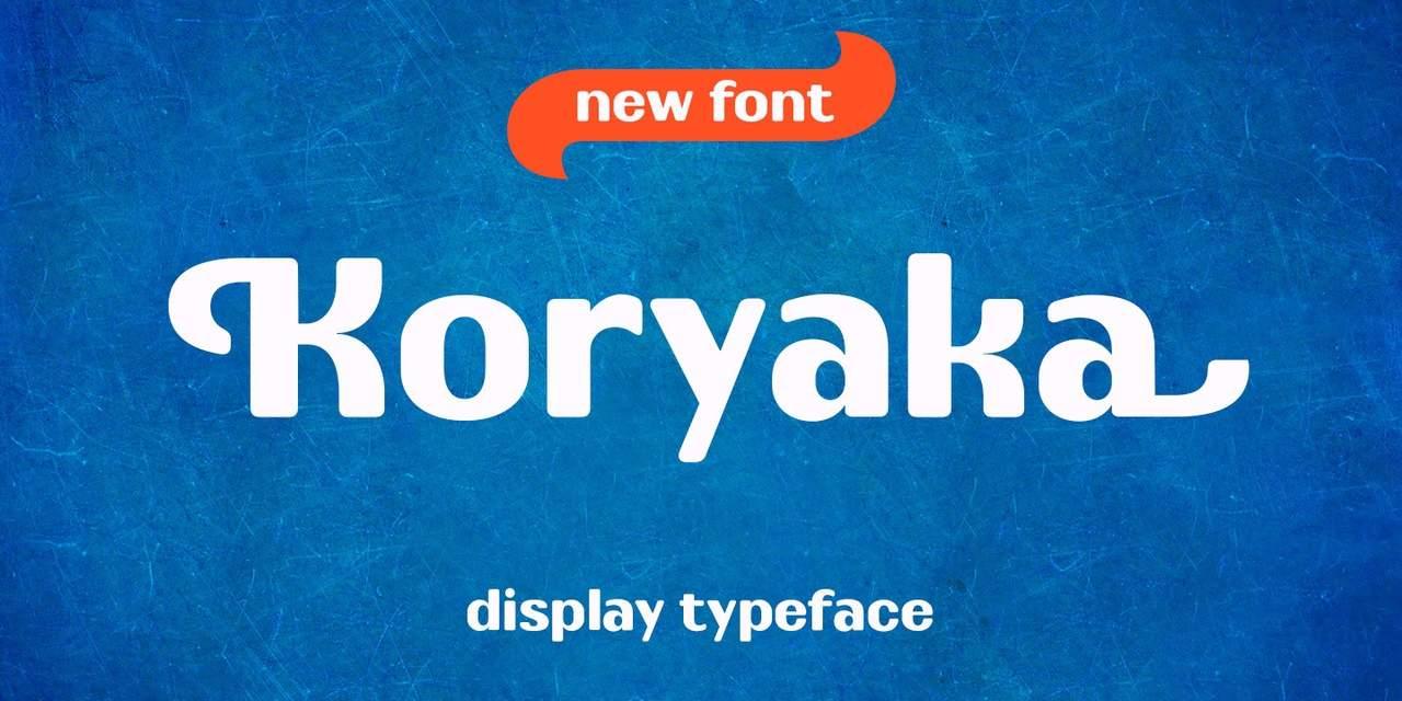 Download koryaka font (typeface)