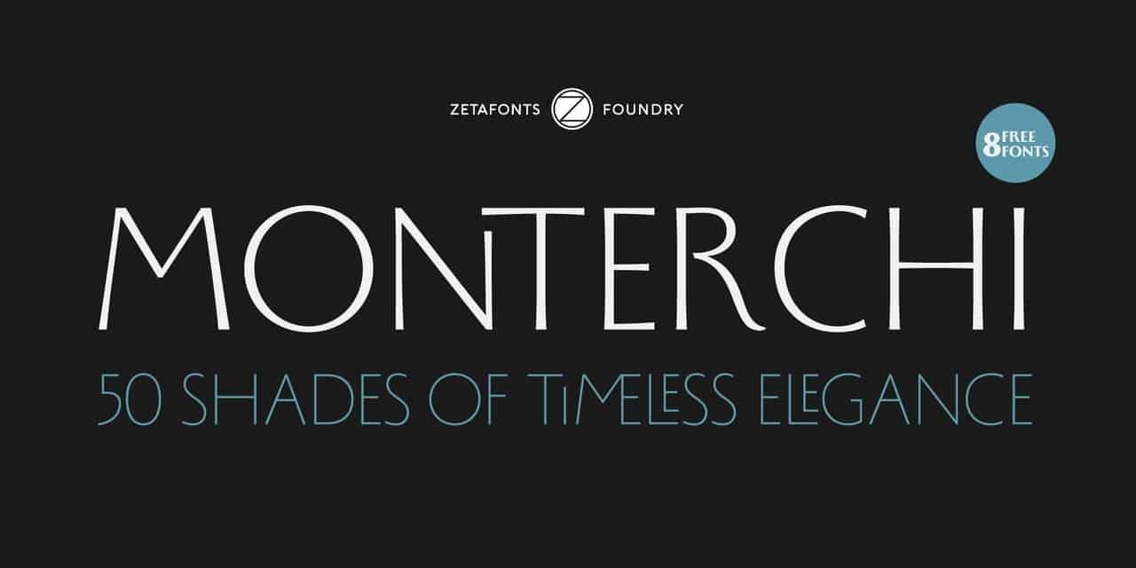 Download Monterchi font (typeface)