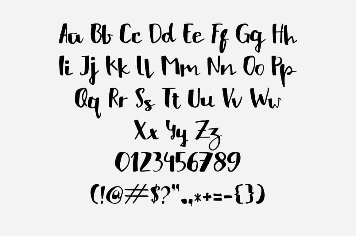 Download HelloListie Typeface font (typeface)