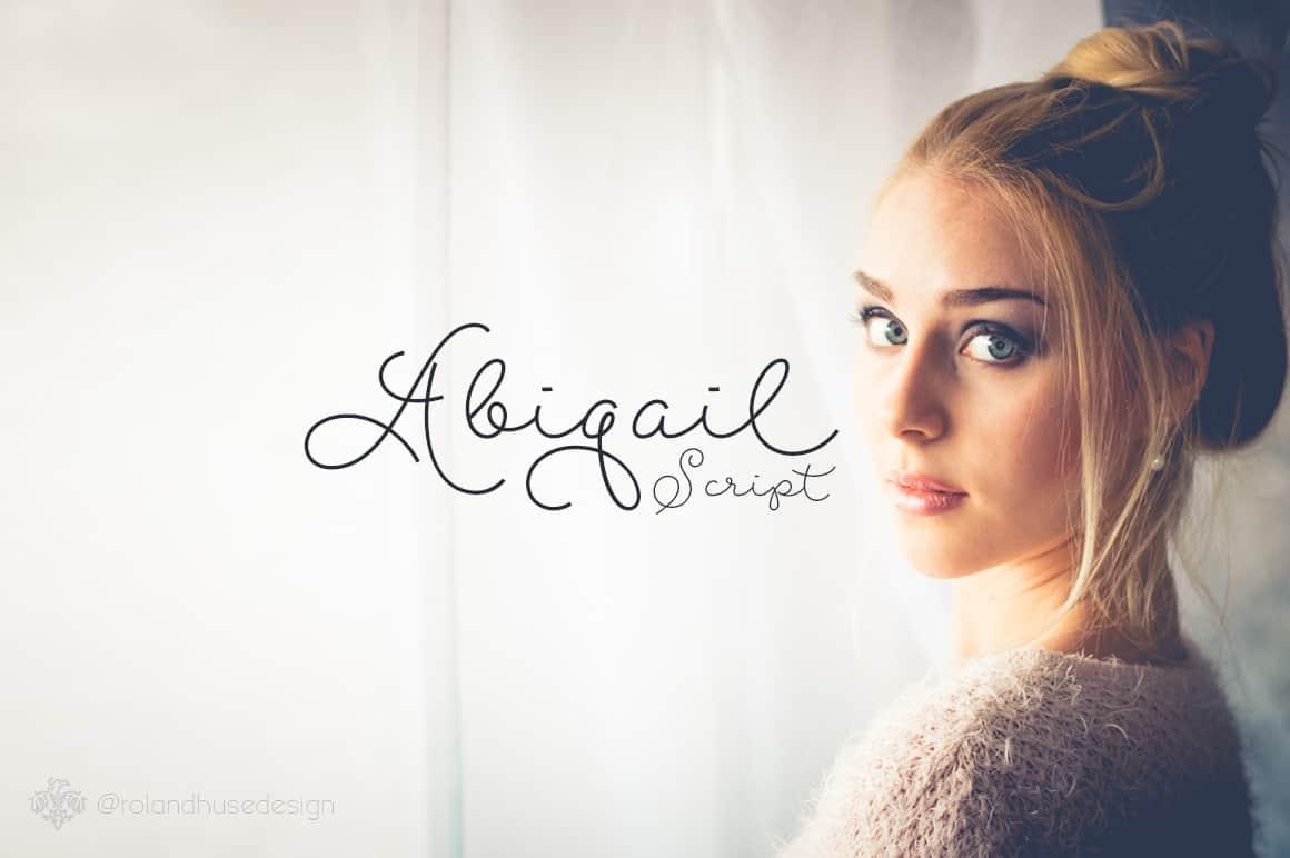 Download Abigail Script font (typeface)