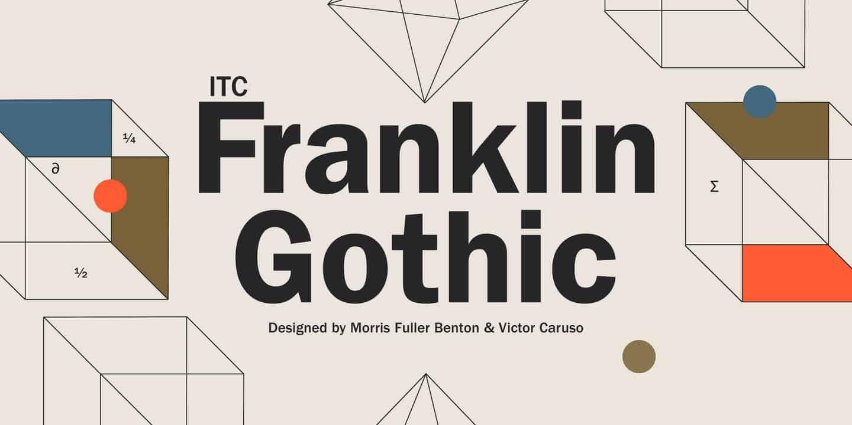 Download Franklin Gothic font (typeface)
