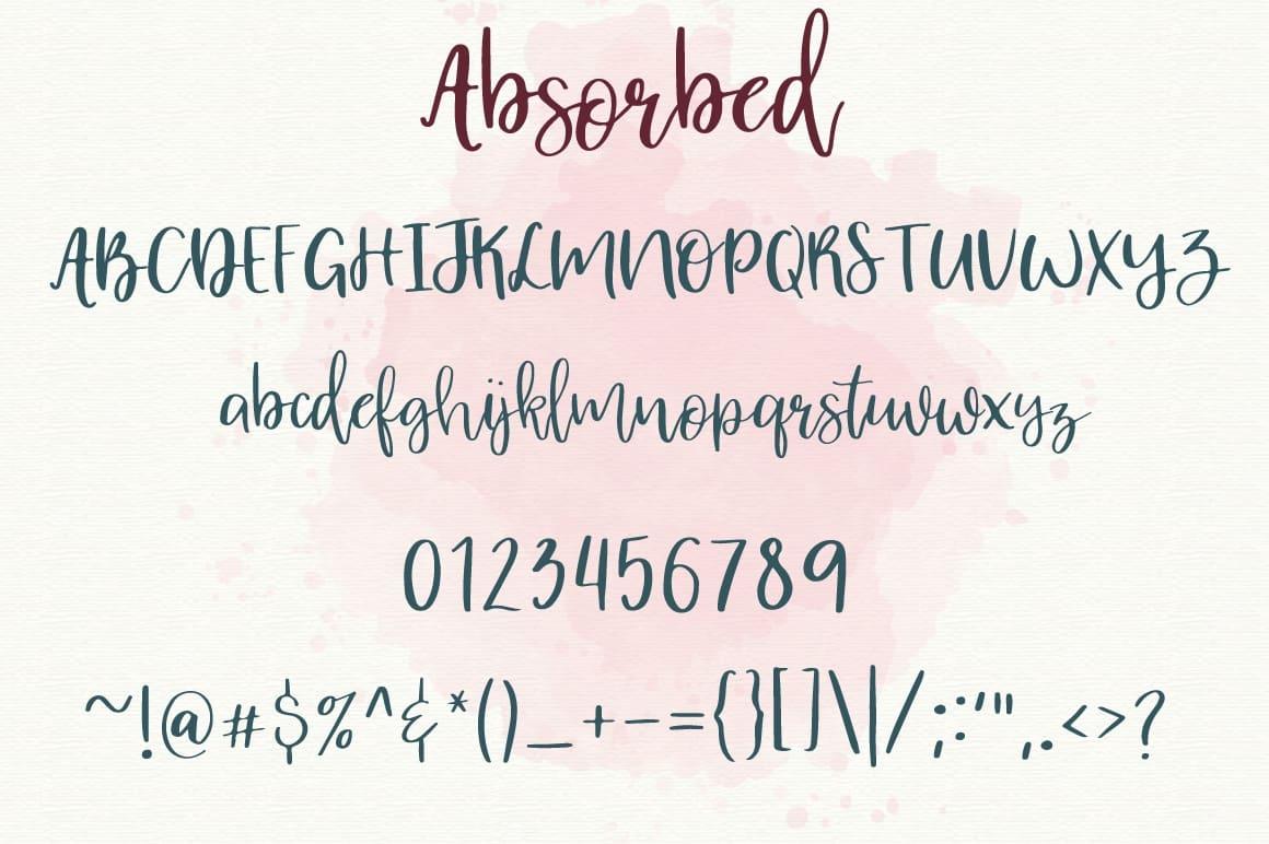 Download Absorbed Script font (typeface)