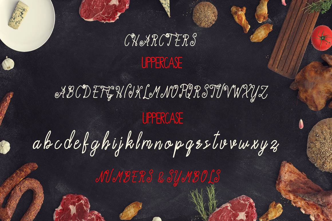Download Acarita font (typeface)