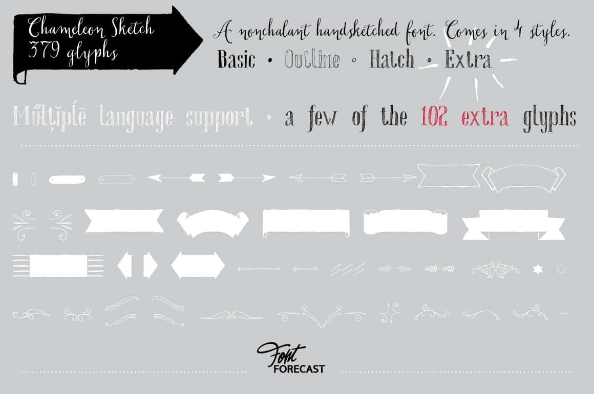 Download Chameleon Family font (typeface)