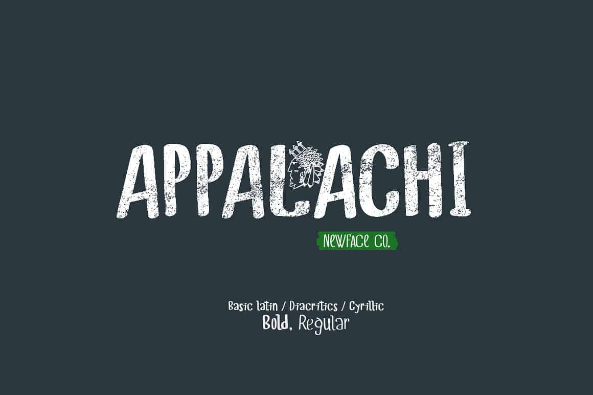 Download Appalachi Typeface Duo font (typeface)