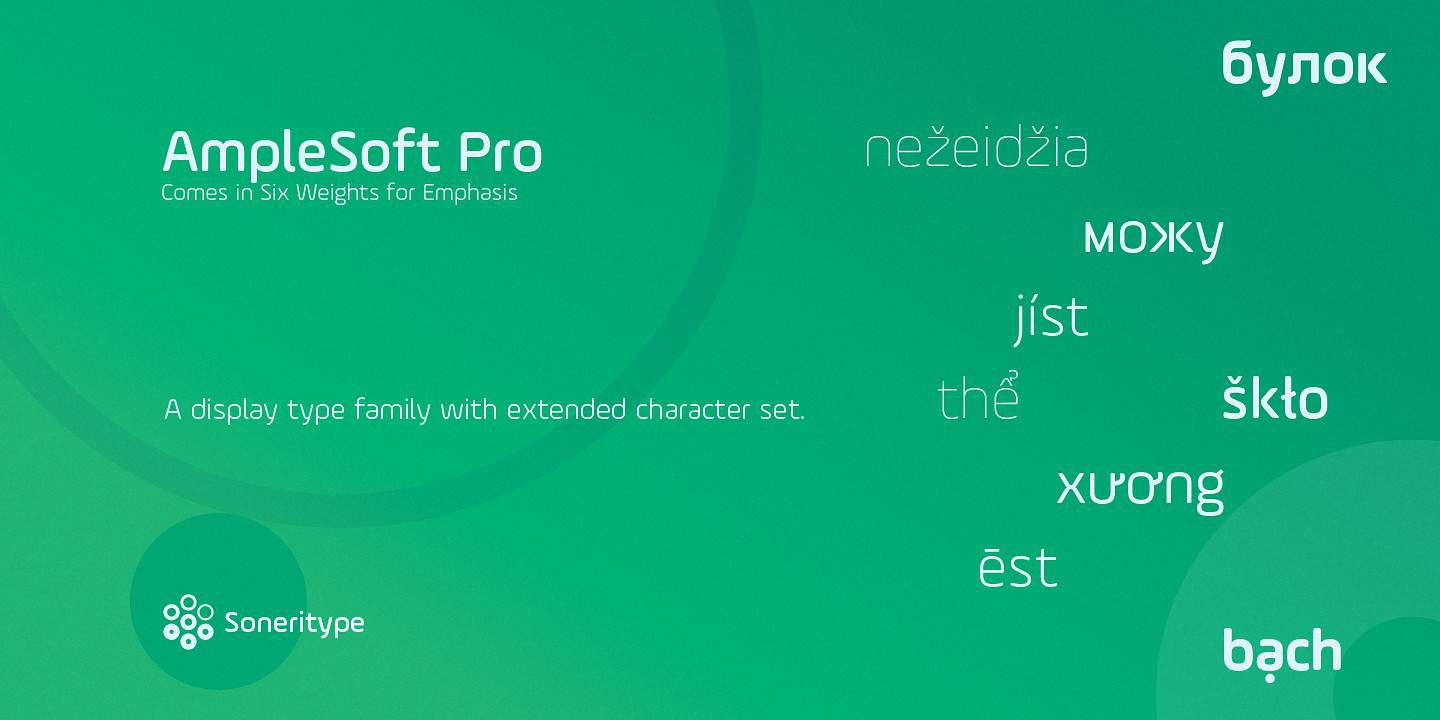 Download AmpleSoft Pro font (typeface)
