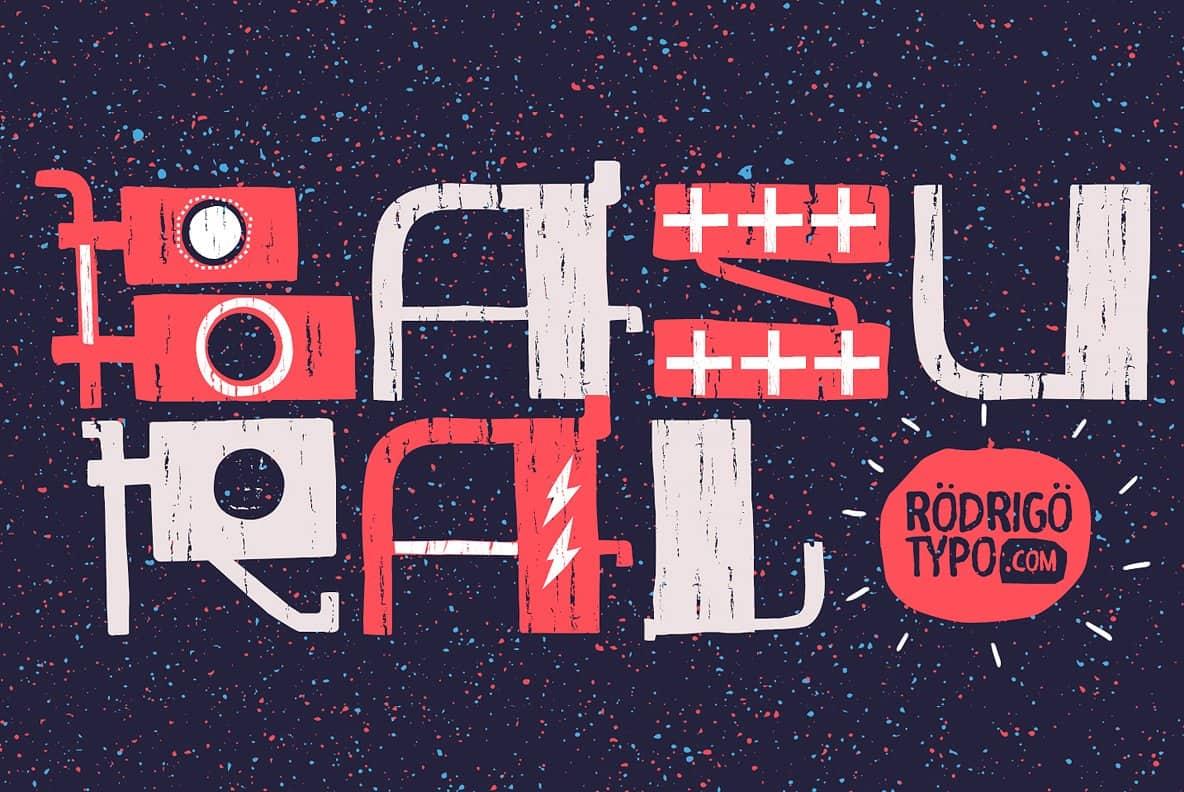 Download Basural font (typeface)