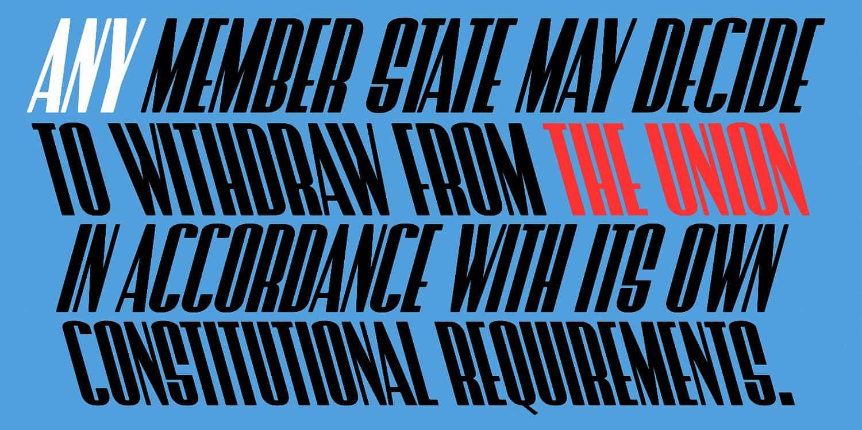 Download Brexit font (typeface)