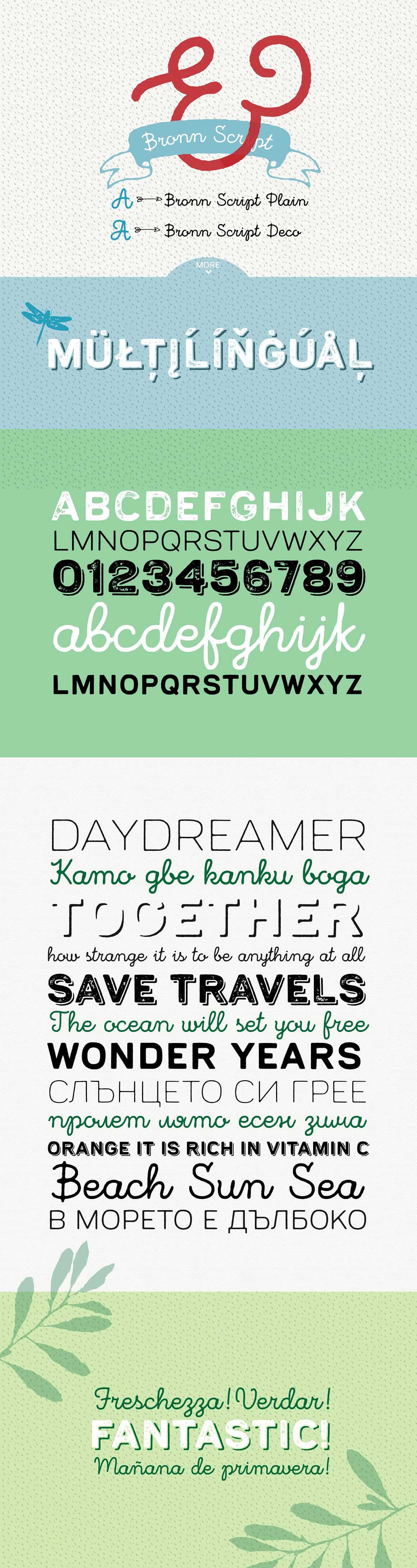 Download Bronn Rust font (typeface)