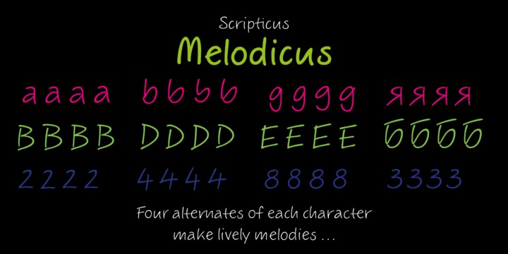 Download ALS Scripticus font (typeface)