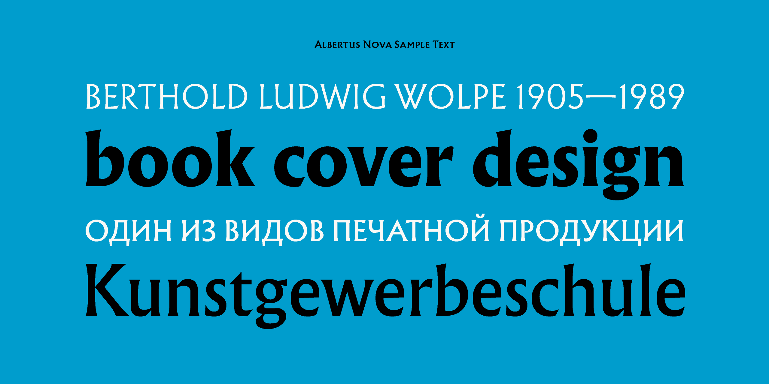 Download Albertus font (typeface)