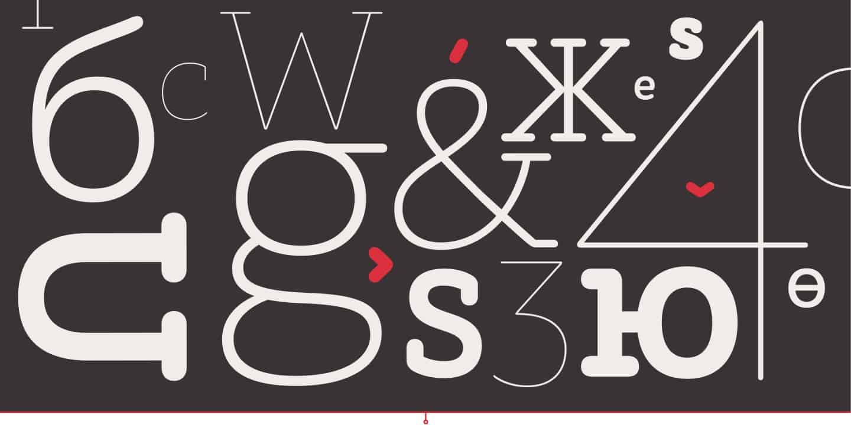 Download ALS Schlange Slab font (typeface)