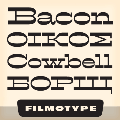 Download Filmotype Western font (typeface)