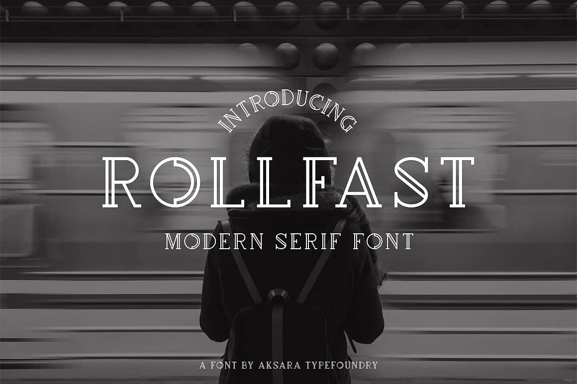 Download Rollfast font (typeface)