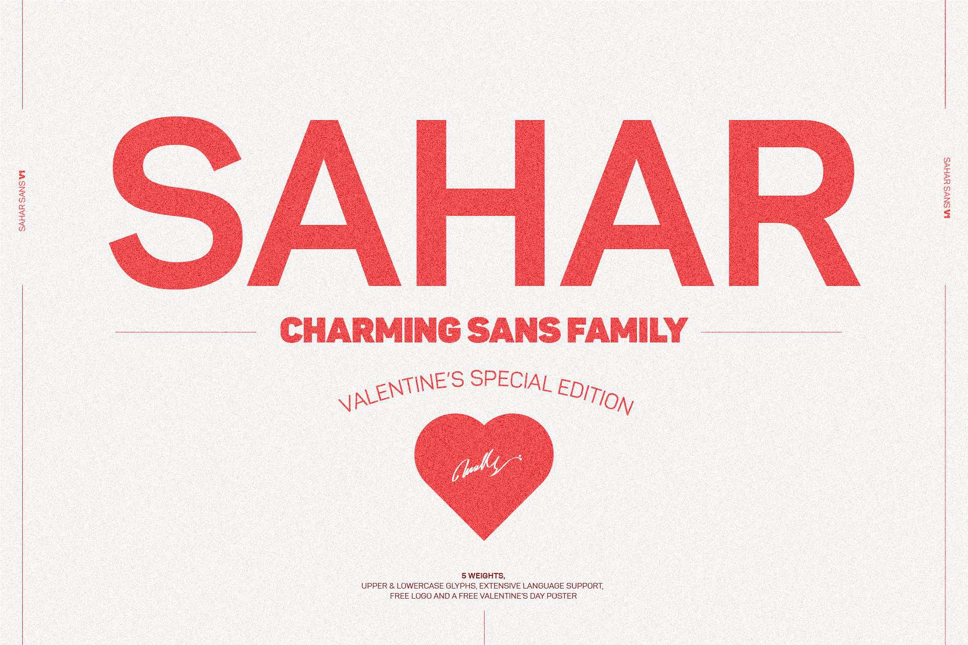 Download Sahar Sans Family (Early Bird Price) font (typeface)