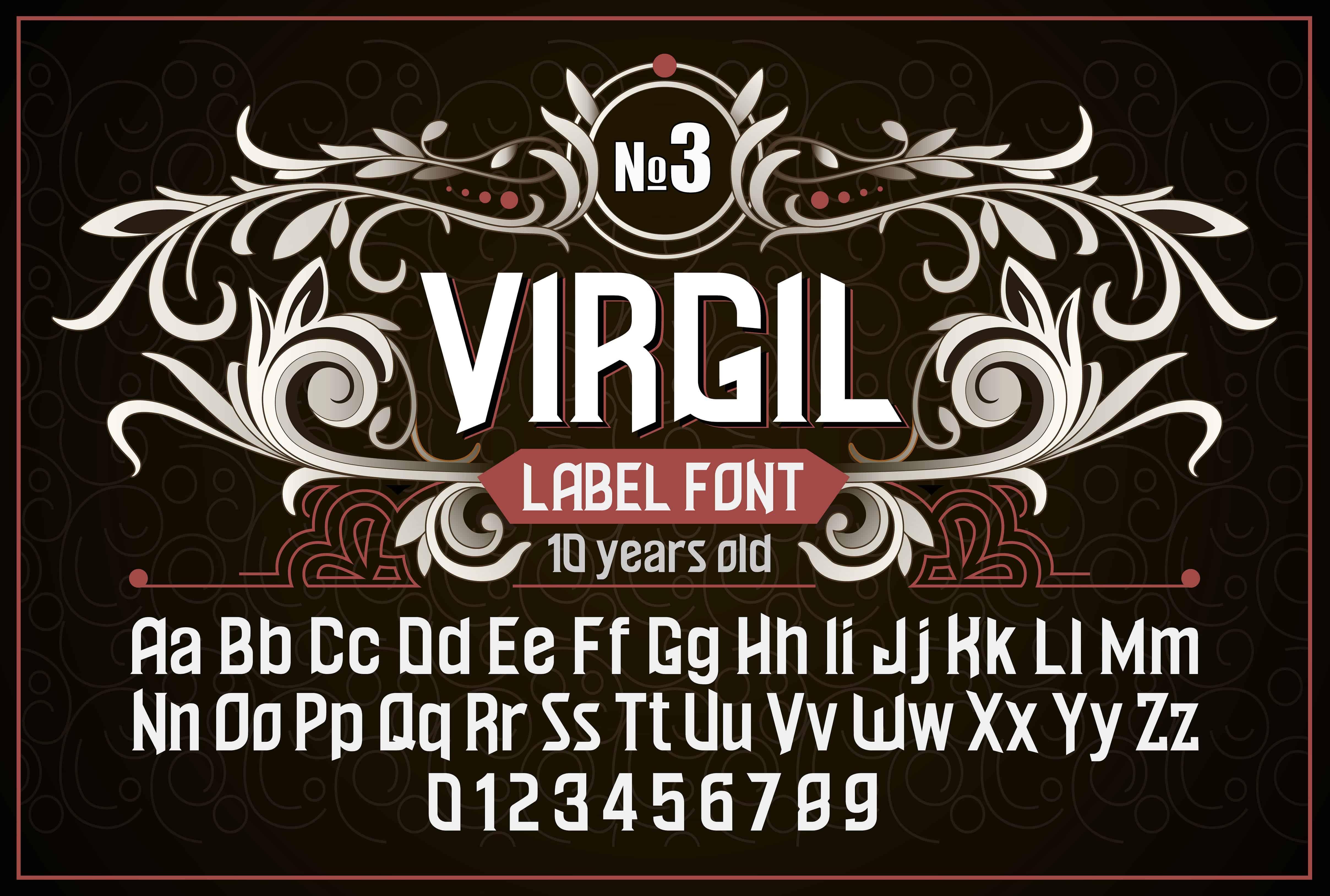 Download Vintage otf Virgil font (typeface)