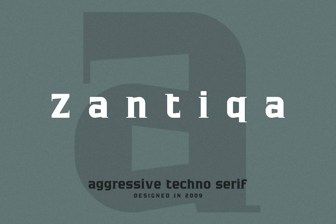 Download Zantiqa 4F font (typeface)