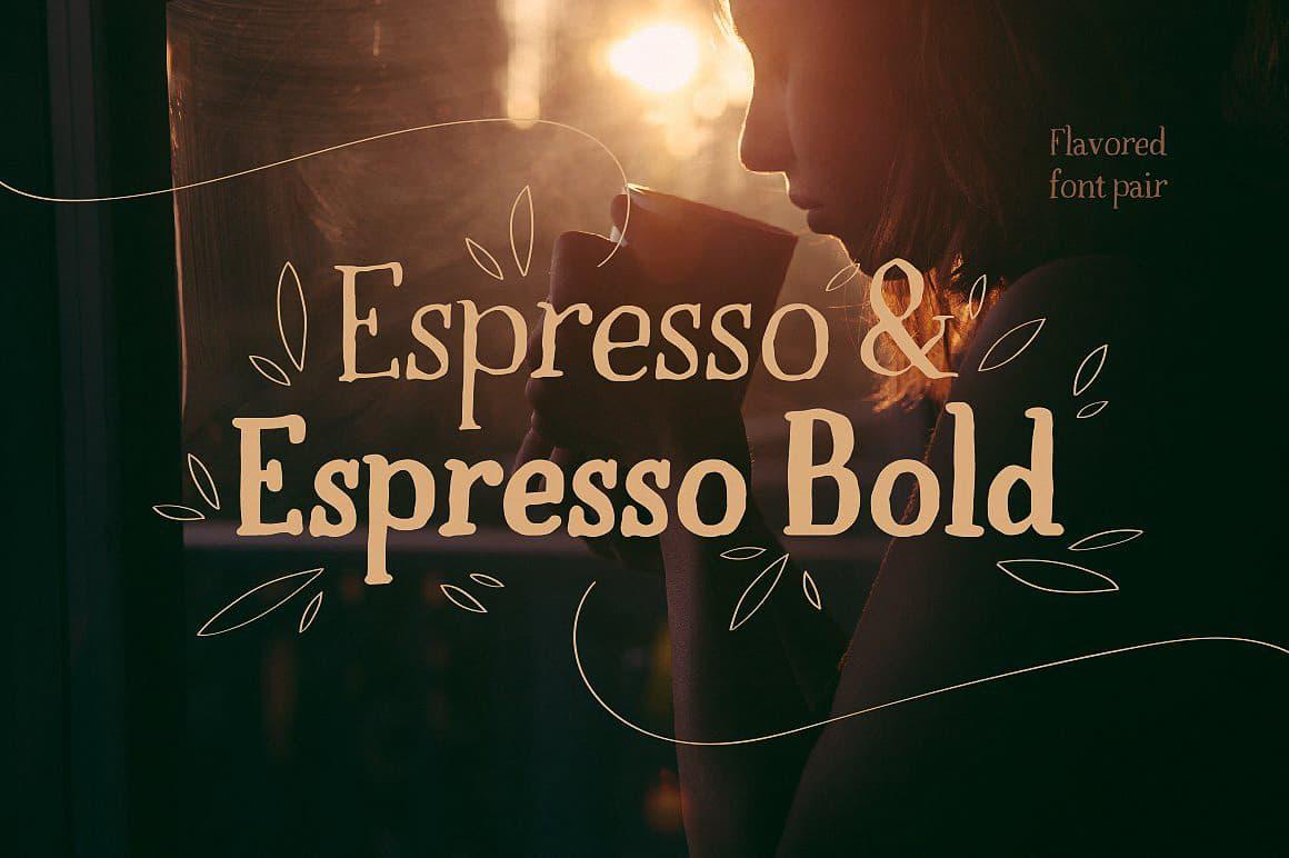 Download Espresso & Espresso Bold font (typeface)