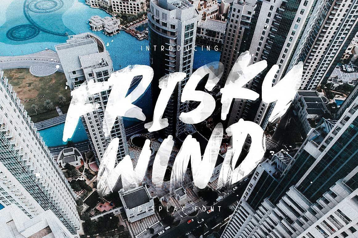 Download Frisky Wind font (typeface)