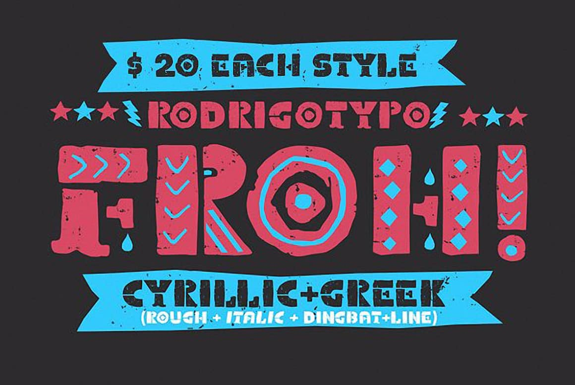Download Froh font (typeface)