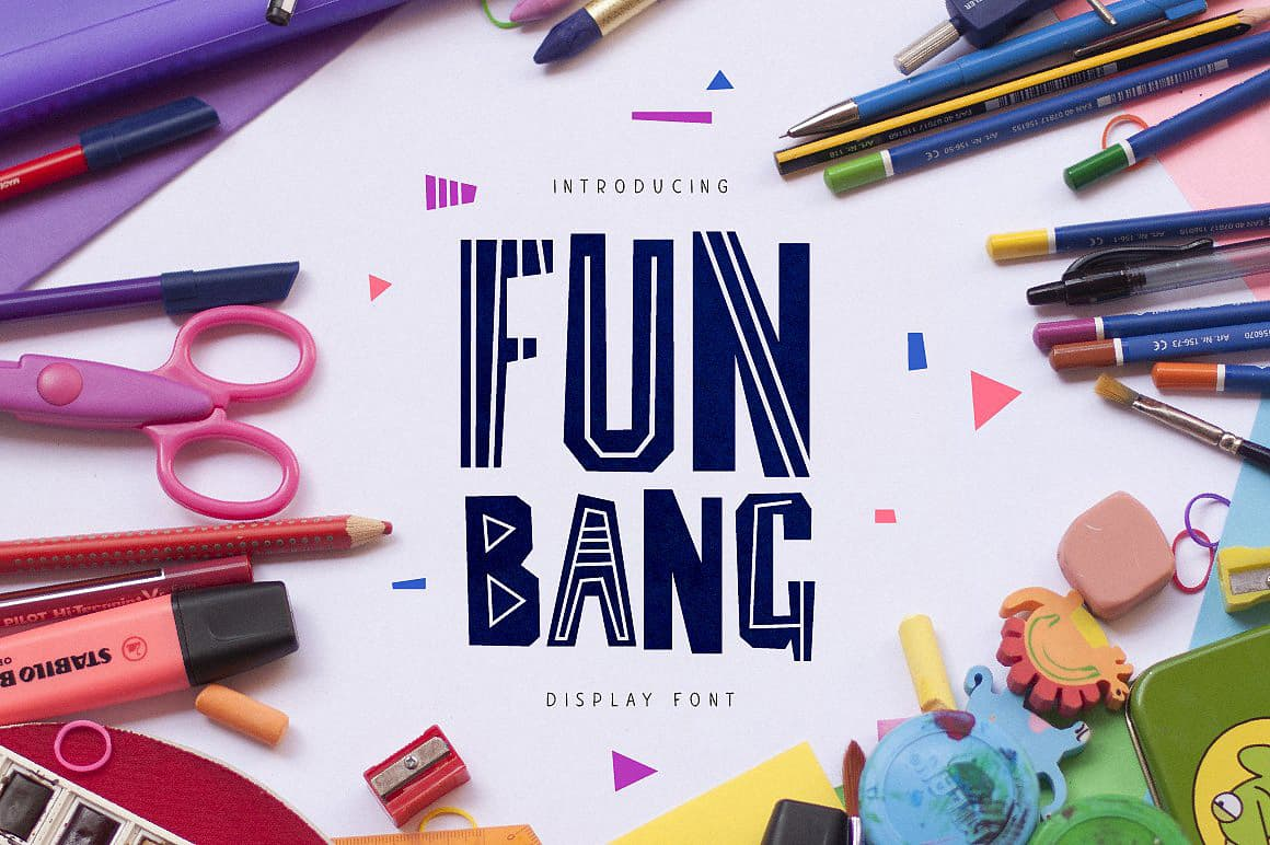Download Fun Bang font (typeface)