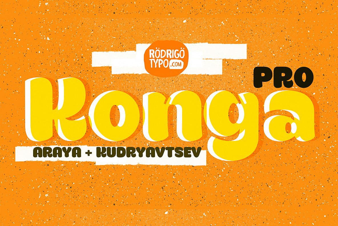 Download Konga Pro+Cyrillic font (typeface)