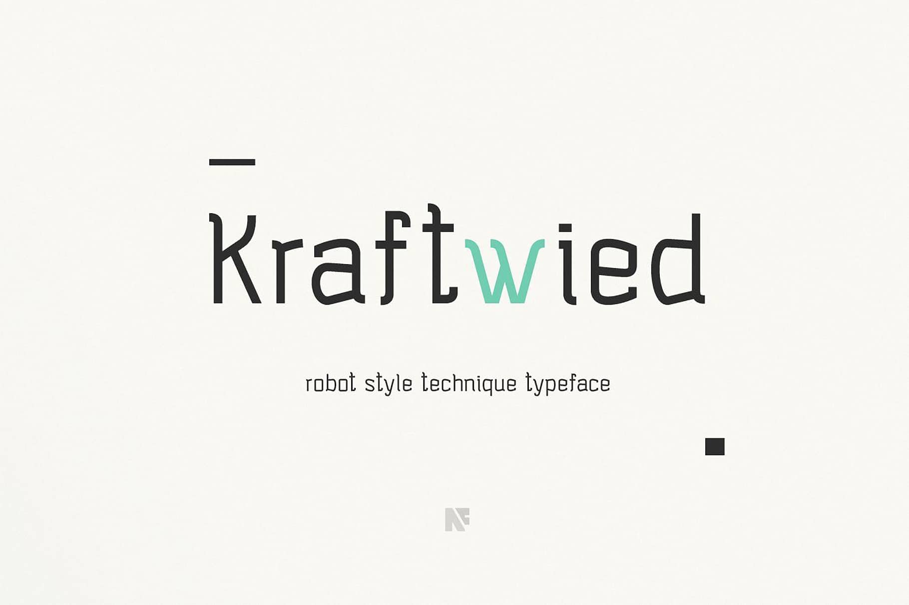 Download Kraftwied font (typeface)