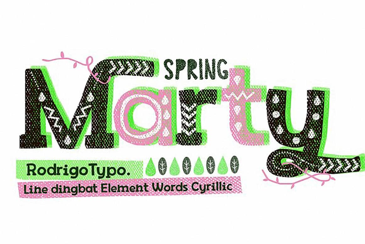 Download Marty Spring font (typeface)