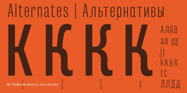 Download Mr Palker Dadson font (typeface)