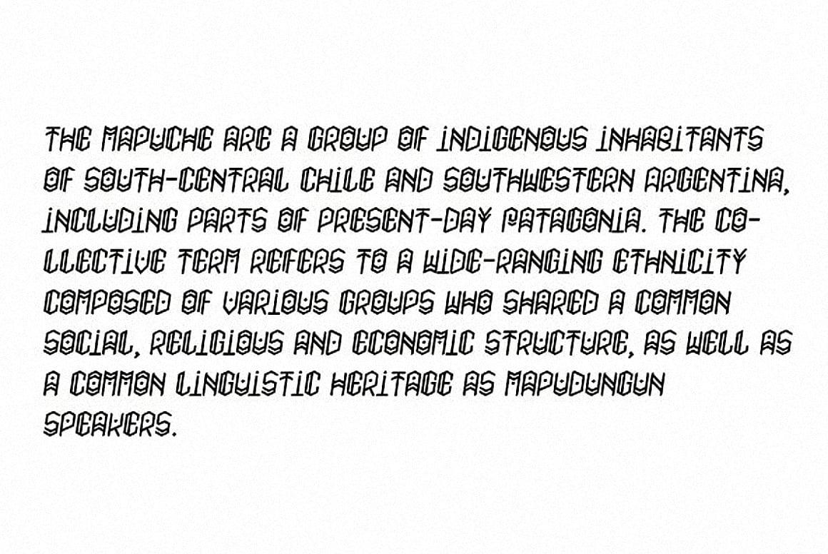 Download Paihuen pro font (typeface)
