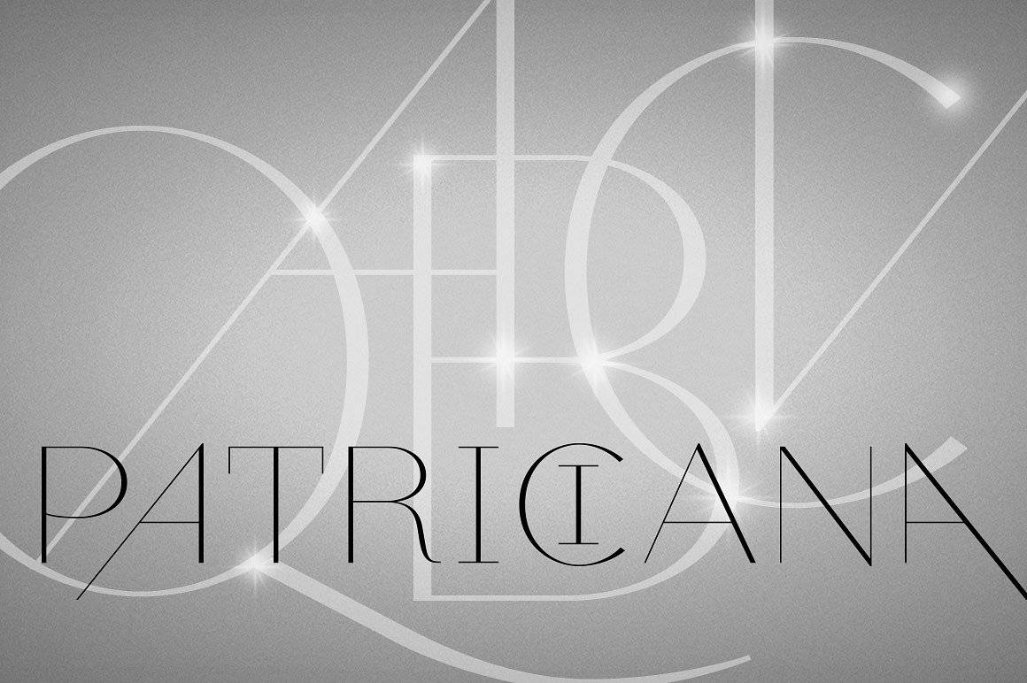 Download Patriciana font (typeface)