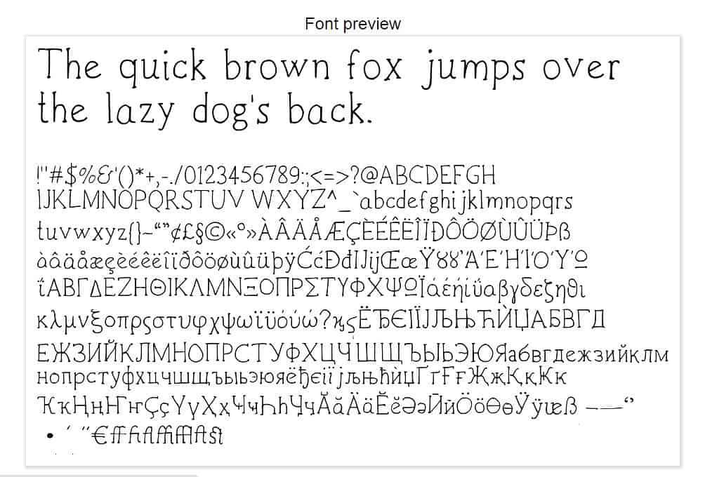 Download Zoe Handwritten font (typeface)