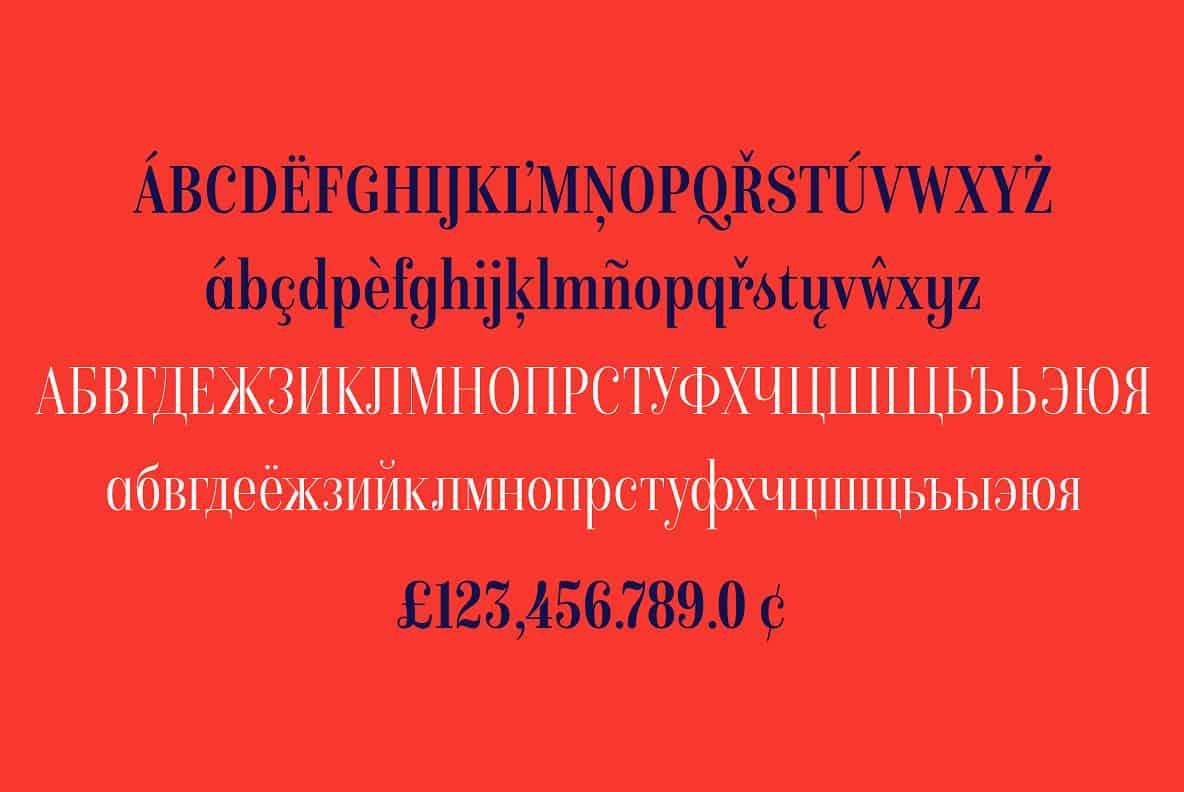 Download Isabel condensed font (typeface)