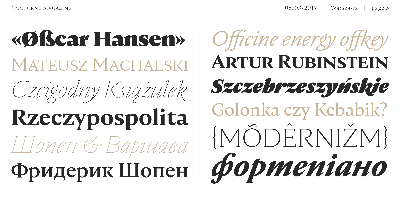Download Nocturne Serif font (typeface)