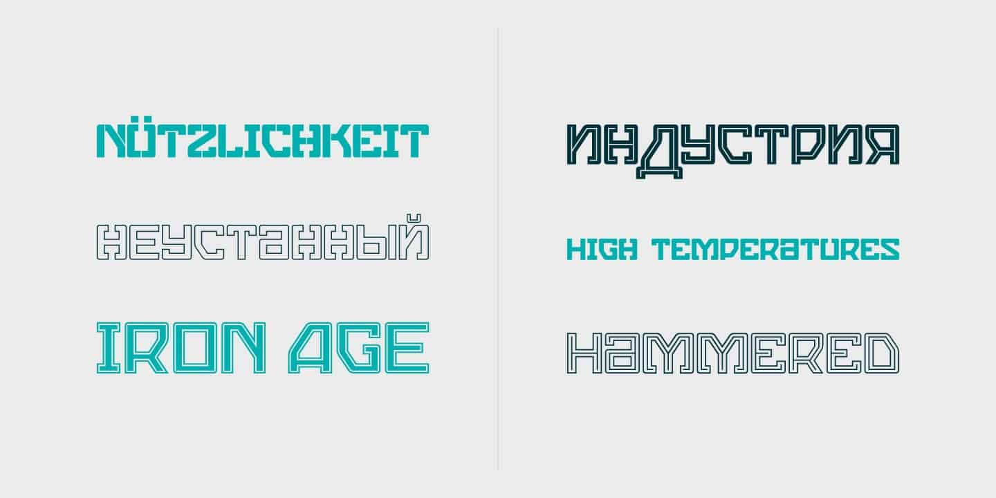 Download Cera Condensed & Compact Pro font (typeface)