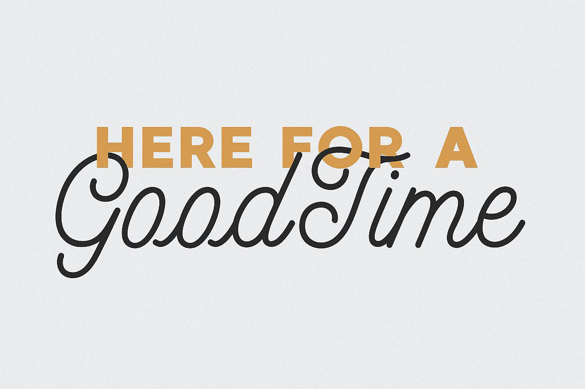 Download MADE GoodTime font (typeface)