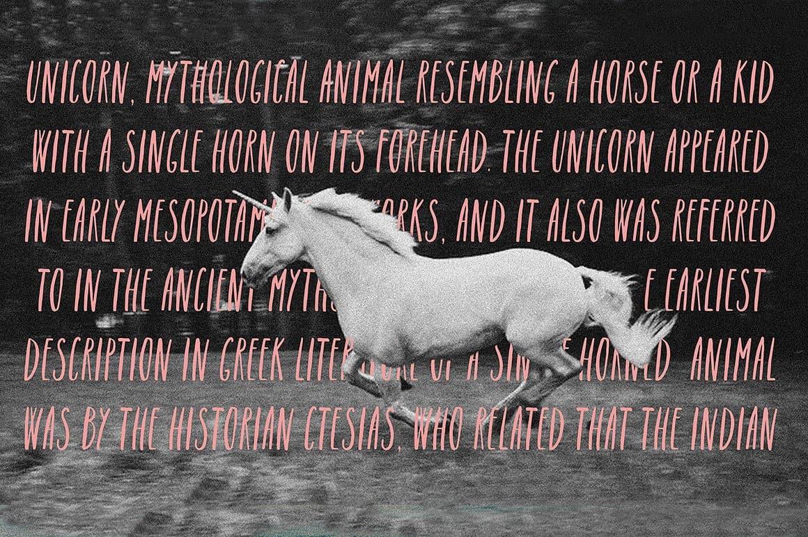 Download Unicorn font. Latin & Cyrillic font (typeface)