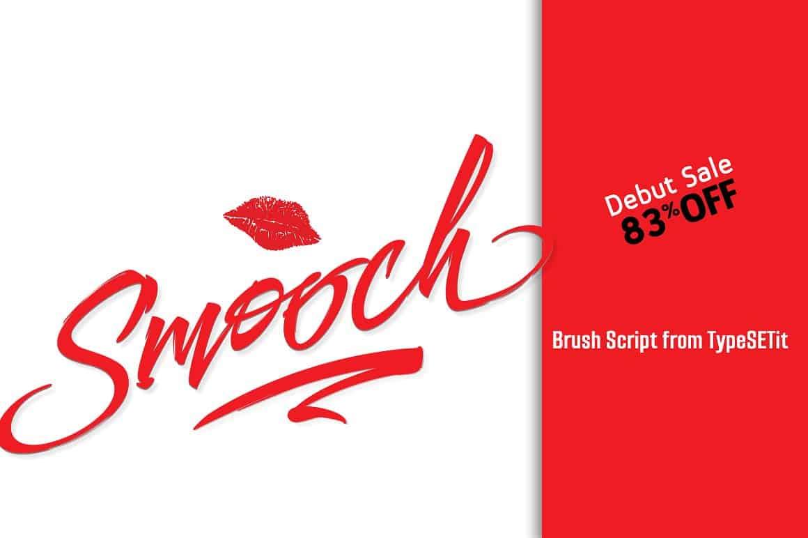 Download Smooch (Brush Script) font (typeface)
