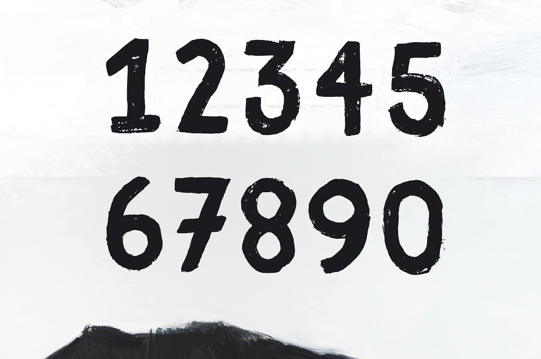 Download Fibre Extended Vintage font (typeface)