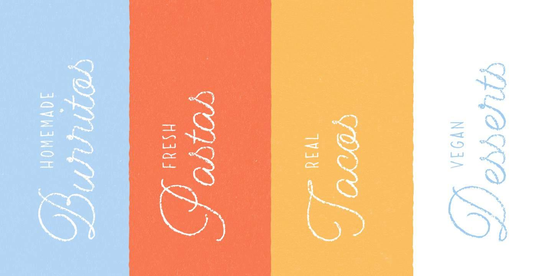 Download Dolce Caffe Chalk font (typeface)