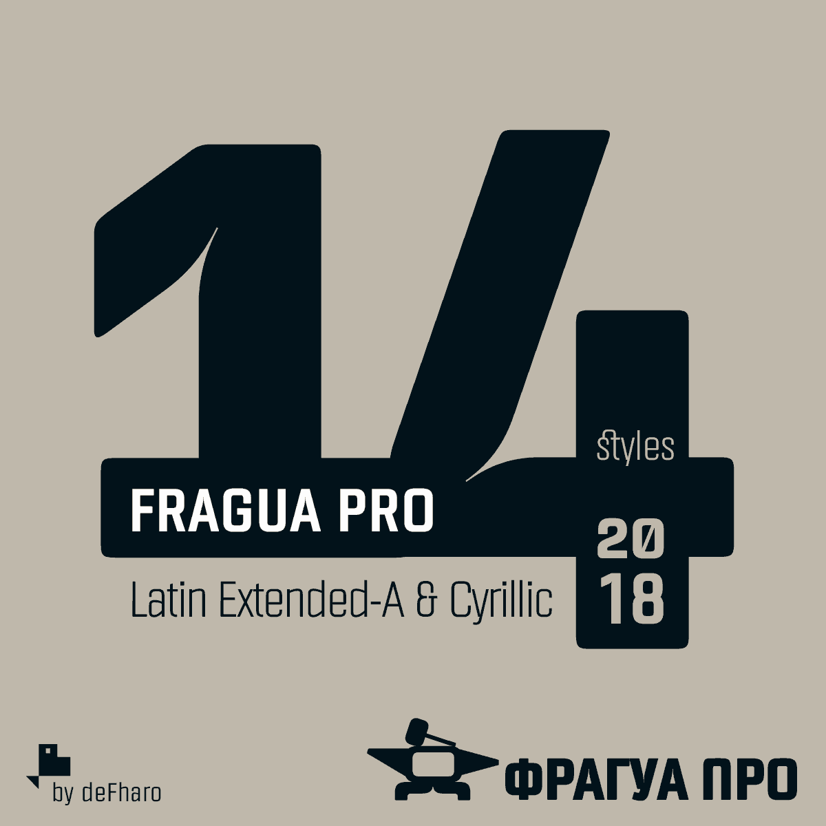 Download Fragua Pro font (typeface)