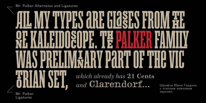 Download Mr Palker font (typeface)