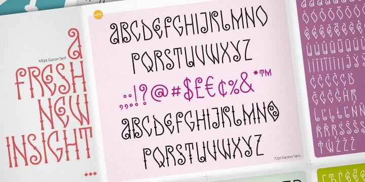 Download Ka Gaytan font (typeface)