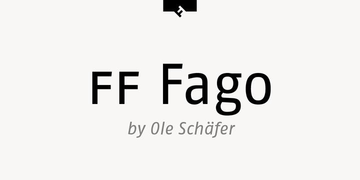 Download Fago     [2000 - Ole Schafer] font (typeface)