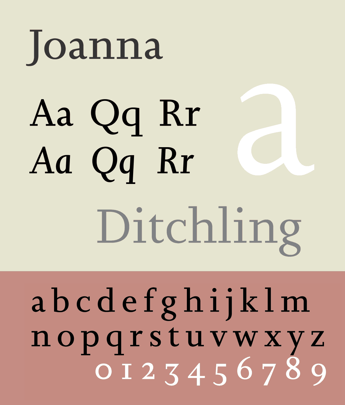 Download Joanna [1930 - Eric Gill] font (typeface)