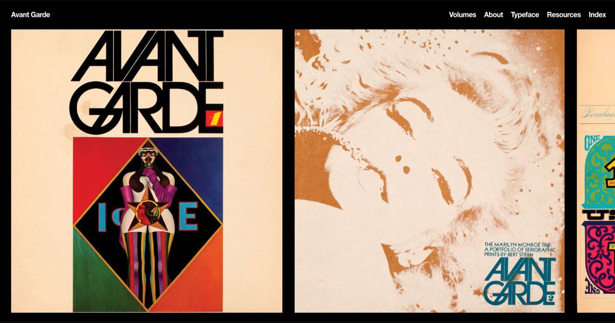 Download Avant Garde 1968 - Herb Lubalin font (typeface)