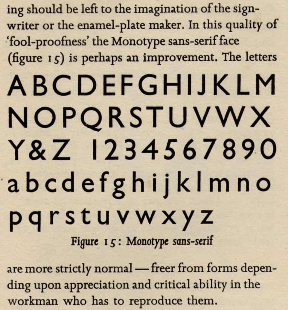 Download Gill Sans [1930 - Eric Gill] font (typeface)