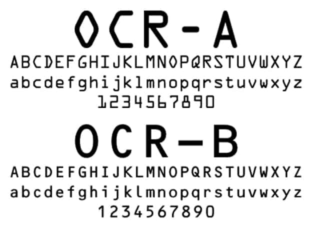 Download OCR     [1965 - American Type Founders] font (typeface)