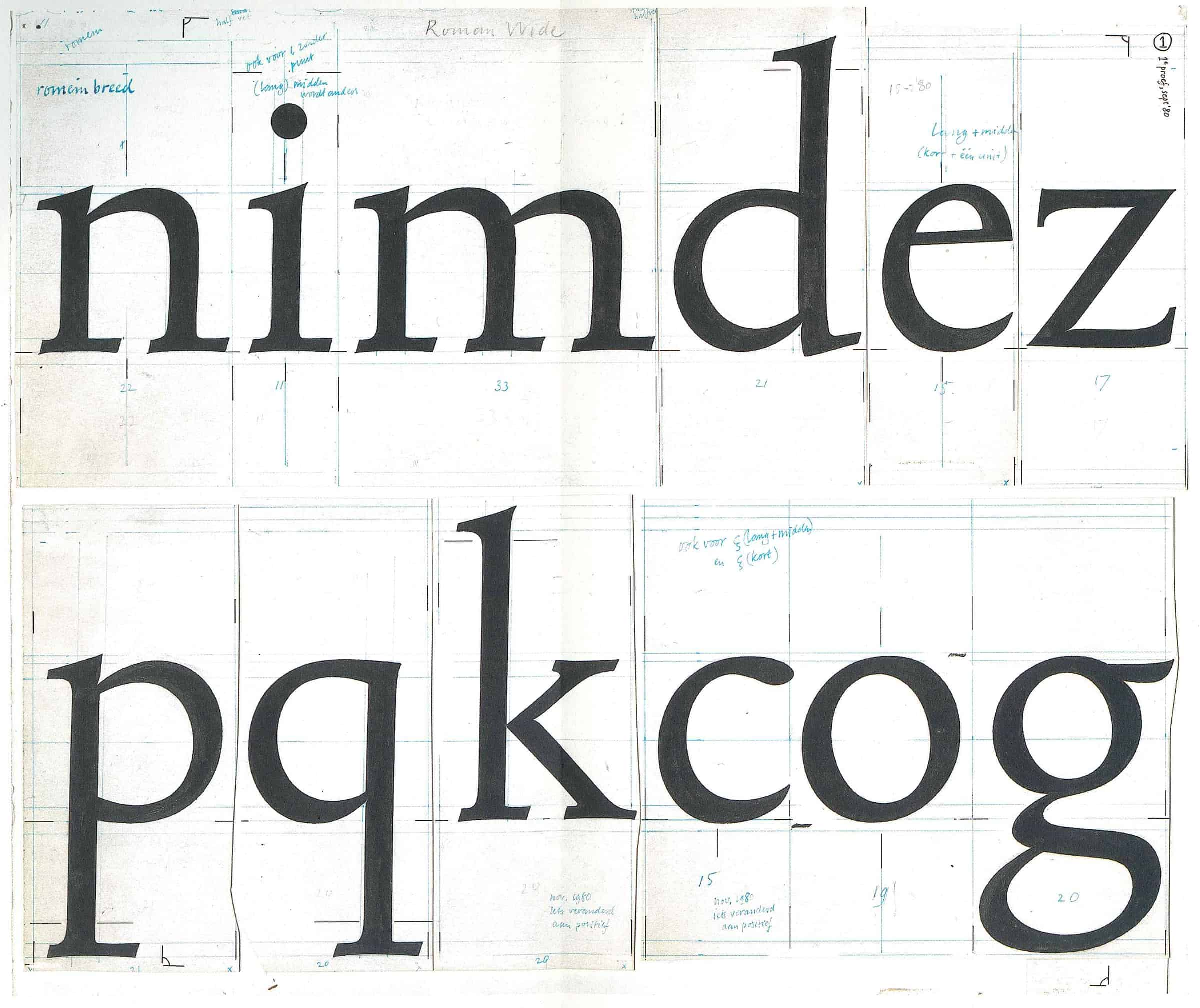 Download Lexicon PS [1992 - Bram De Does] font (typeface)