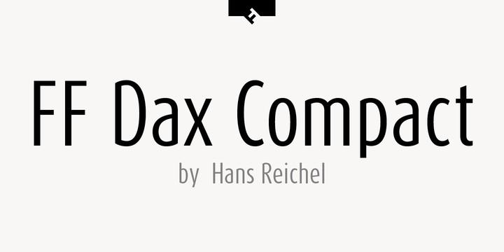 Download Dax [1995 - Hans Reichel] font (typeface)
